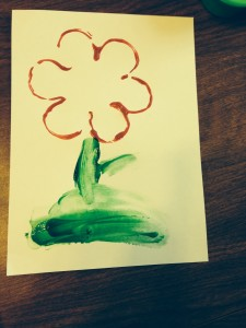 Fun, Frugal Fingerpainting