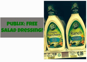 Publix Freebie: Two Bottles of Wish-Bone Salad Dressing