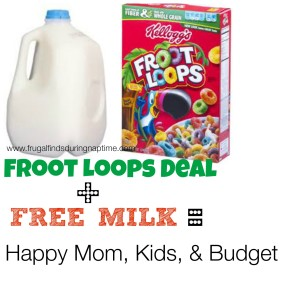 Stock Up on Cereal and Milk