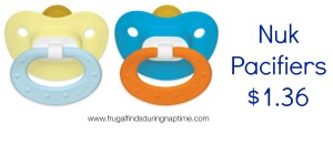Nuk Pacifier Deal + Baby Gift Idea Under $10