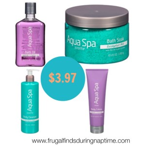 Aqua Spa Coupon