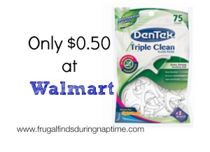 DenTek Floss Picks $0.50 at Walmart