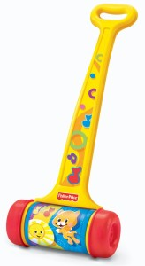 Fisher-Price Brilliant Basics Melody Push Chime Toy $6.28