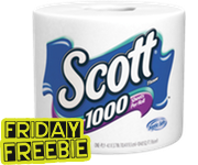 Friday Freebie:: FREE Scott Toilet Paper