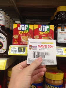 Dollar General:: Jif To Go $0.50