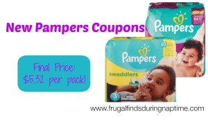 New $2.00 Pampers Coupons + Deal Scenario at Rite Aid