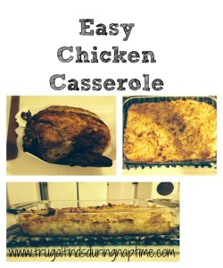 Chicken Casserole Made with Rotisserie Chicken