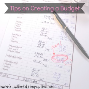 30 Days to Change:: Day 30–Tips to Creating a Good Budget + Free Budget Printables