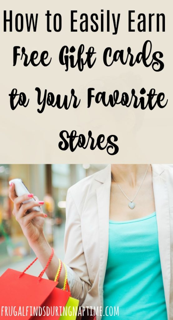 Use this one app and these tips to earn free gift cards to your favorite stores!