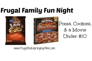 Frugal Family Fun:: Pizzas, Cookies, and a Movie for Under $10