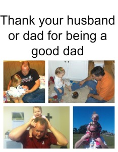 Mommy Moments Monday:: Thankful for Good Dads