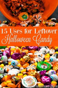 15 Uses for Leftover Halloween Candy