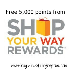 Shop Your Way Rewards:: FREE 5,000 Points {$5.00 Credit}