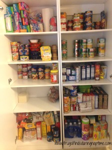 31 Days to Clutter Free Challenge:: Day 12–Pantry