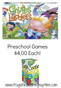 Toys R Us:: Select Hasbro Preschool Games $4.00