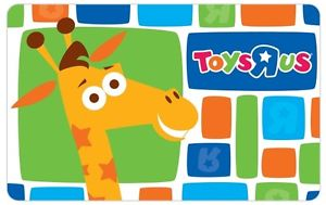 HOT DEAL:: $100 Toys R Us Gift Card for $85 + FREE Shipping