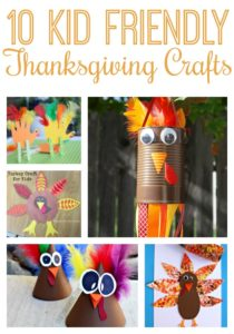 These kid friendly Thanksgiving Crafts are perfect to keep the kiddos occupied while you bake the pumpkin pie!