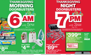 Kmart's Black Friday Ad:: Opening 6 AM Thanksgiving Morning