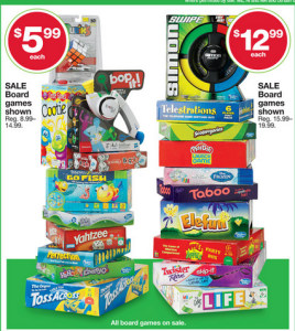 Kmart Thanksgiving Doorbusters:: Board Games Starting at $3.99