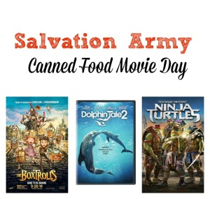 Salvation Army Canned Food Movie Day