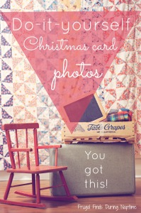 Do-it-yourself Christmas Card Photos