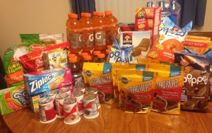 My Grocery Trip:: $64.96 for $223.23