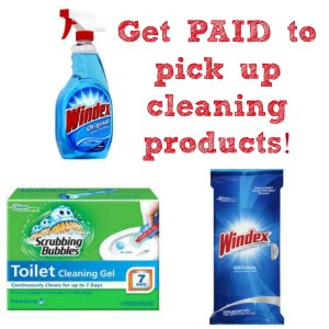 Walgreens:: $2.00 Money Maker on Cleaning Products!