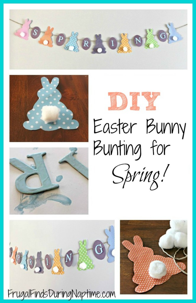 A super-simple and cute spring craft. It's so easy and quick, you can do it while your kids nap!