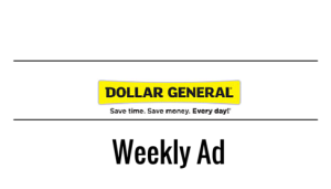 Dollar General Weekly Ad 11/8-11/14