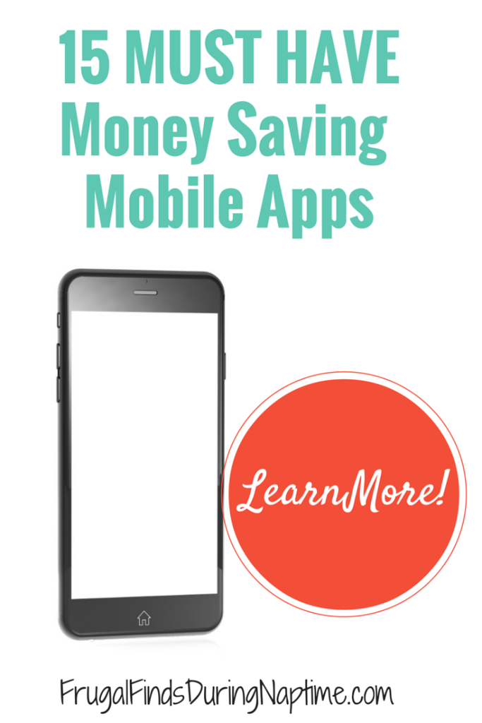 Get these 15 money saving mobile apps to save even more on your groceries, household essentials, and even clothes!