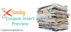 Sunday Coupon Insert Preview 4/12