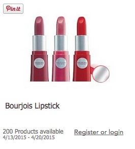 HURRY! Bourjois Lipstick Paid Product Testing Available to 200 People!