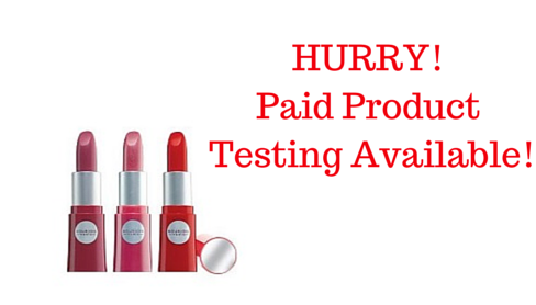 bourjois paid product testing
