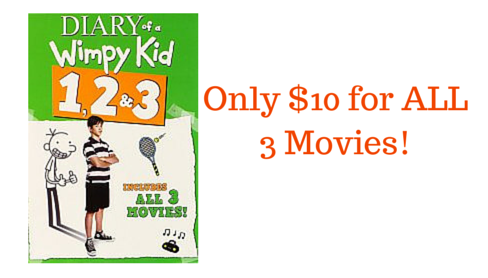 diary of a wimpy kid deal