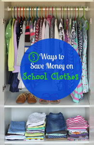 5 Ways to Save Money on School Clothes + How to Get $50 in FREE Clothes!