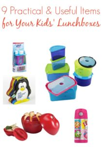 9 Practical & Useful Items for Your Kids' Lunch Boxes