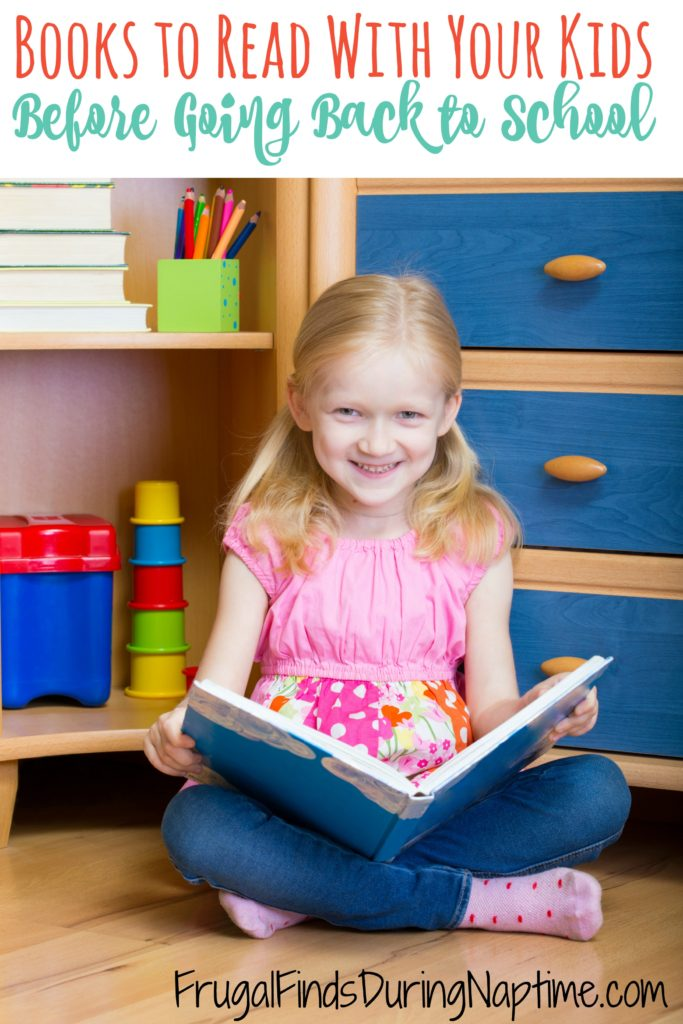 Whether they are starting a new school, starting kindergarten, or just anxious about a new school year, there are a lot of books to help calm the jitters.