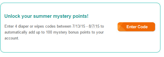 pampers mystery points