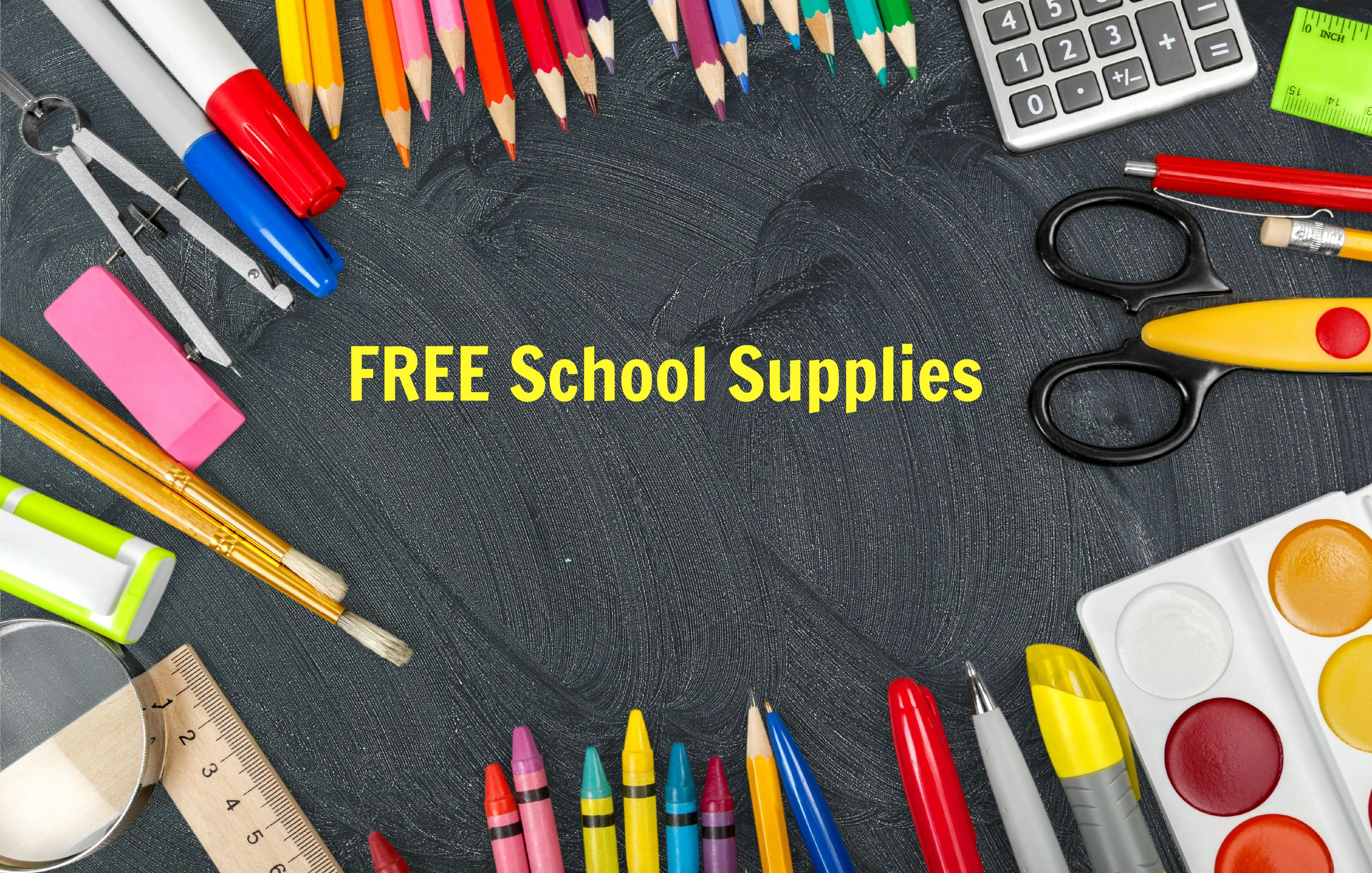 New List of FREE {or almost free} School Supplies! - Frugal Finds ...