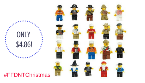 Hurry and snag a set of 20 mini figures for just $4.86! This will make a GREAT Christmas gift! #FFDNTChristmas