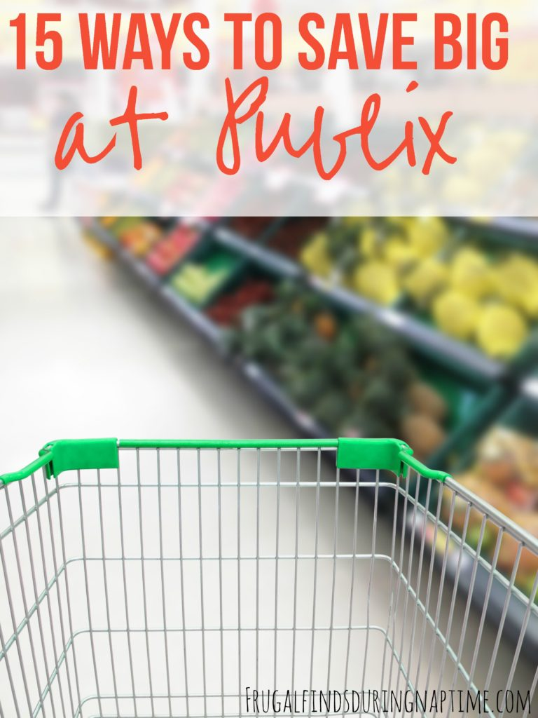 Want to learn how to save at Publix? Maximize your savings at Publix with these 15 tips!