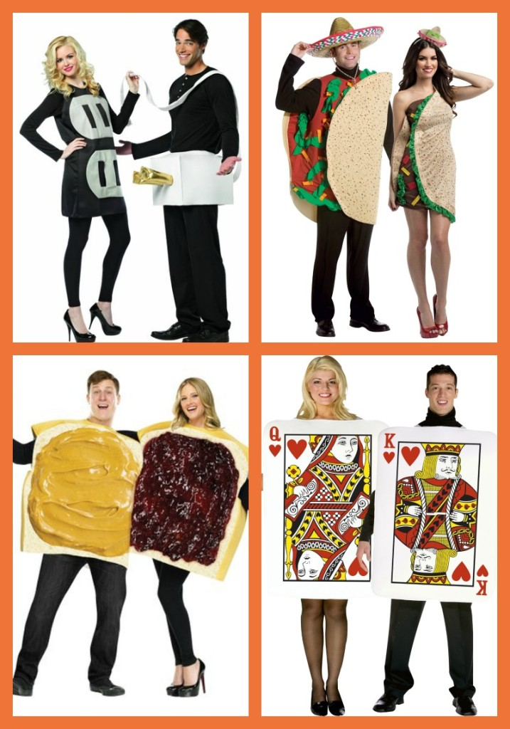 Dress up with a spouse or friend this Halloween with one of these creative and fun costumes!
