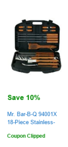 barbecue set coupon