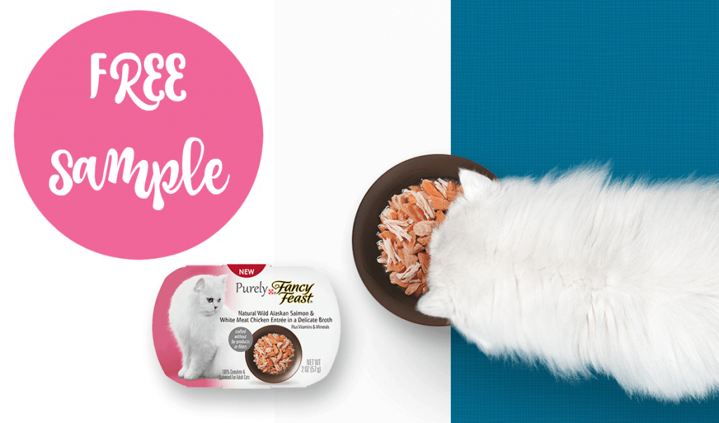 FREE Sample of Purely Fancy Feast Natural Cat Food