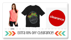 Save an Extra 10% on Clearance Clothes, Shoes, and Accessories at Target! PSA $1.48!