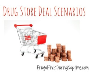 Drug Store Deal Scenarios 1/3-1/9