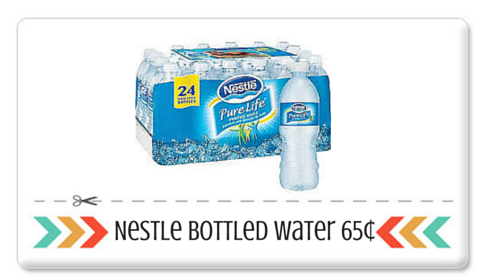 nestle water at rite aid