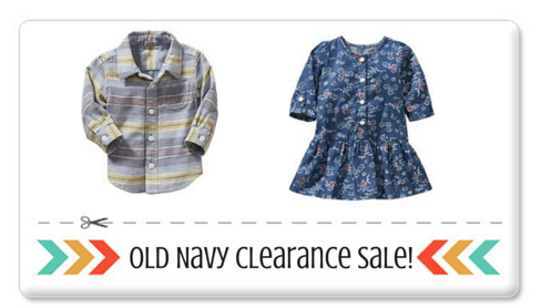 old navy clearance sale