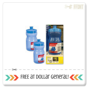 Dollar General:: FREE Rubbermaid Beverage Bottle