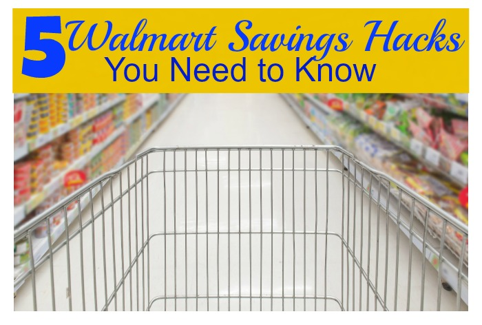 5 walmart savings hacks